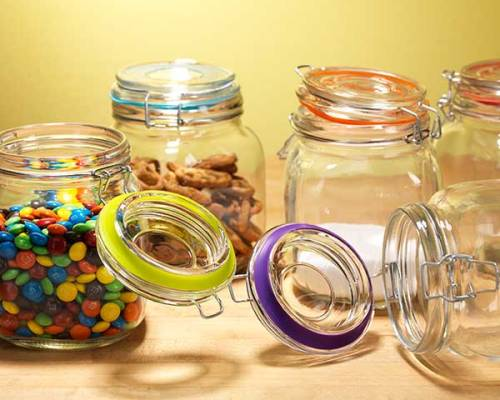 Snap Lid Canisters