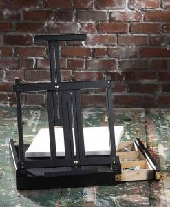 Black Sketchbox Table Easel