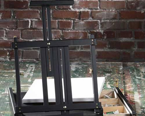 Black Sketchbox Table Easel