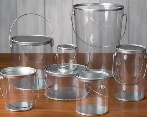 clear_acrylic_paint_pails