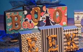 Halloween Wood Blocks