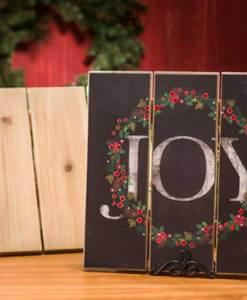 Small Wood Slat Board - Joy
