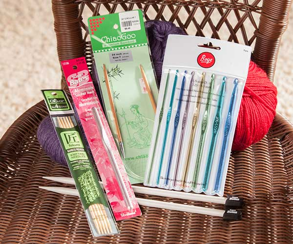 Knit and Crochet Needles, Hooks and Accessories