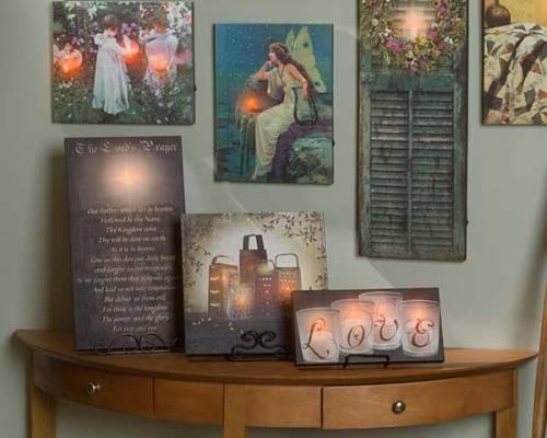 Wall Décor Light Up Canvas
