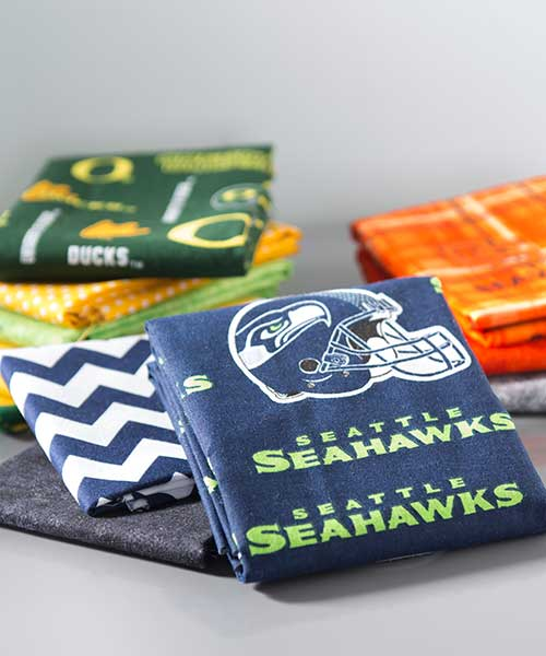 sport teams cotton fabrics