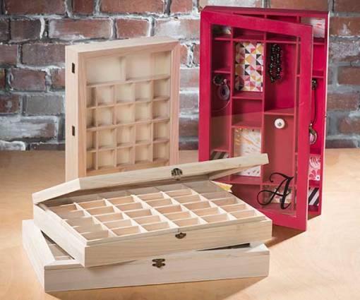Jewelry Organizers - wood
