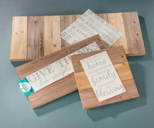 Unfinished Pallet Boards