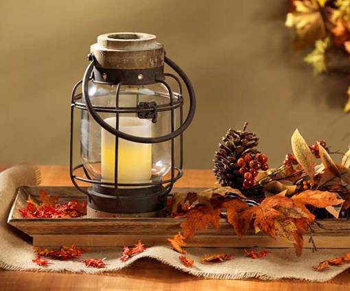 Glass Jar Lantern