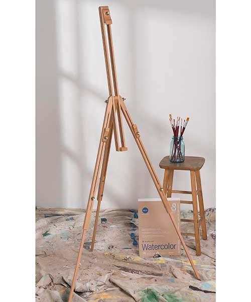 Wood Field Sketch Easel