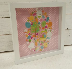 Bunnyville doodlebug shadow box