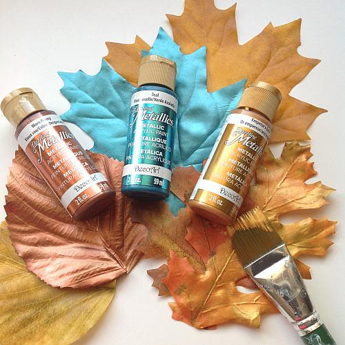 Dazzling Metallics Paint available at Craft Warehouse