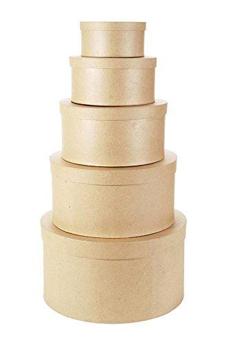 Darice Paper Mache Nesting Boxes