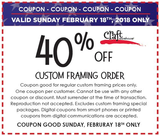 Presidents Day Sale | Craft Warehouse