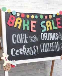 Bake Sale Banner