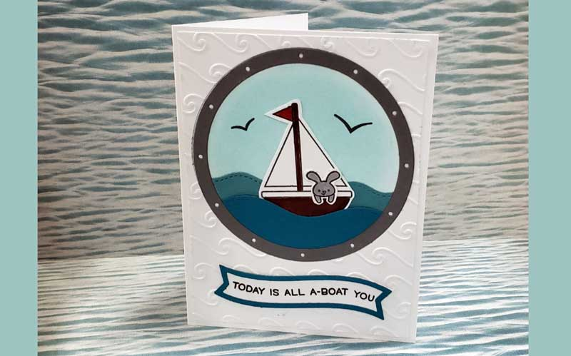 """""""All A-BOAT You"""" Card"""