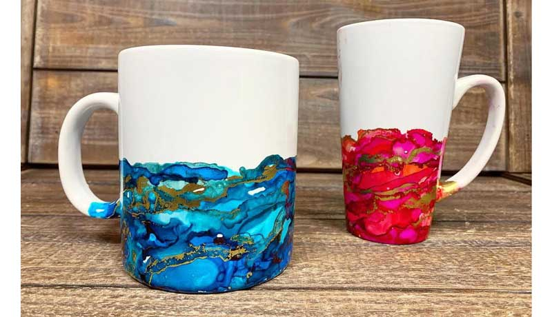 Alcohol Ink Mug @ Hazel Dell Location | Vancouver | Washington | United States