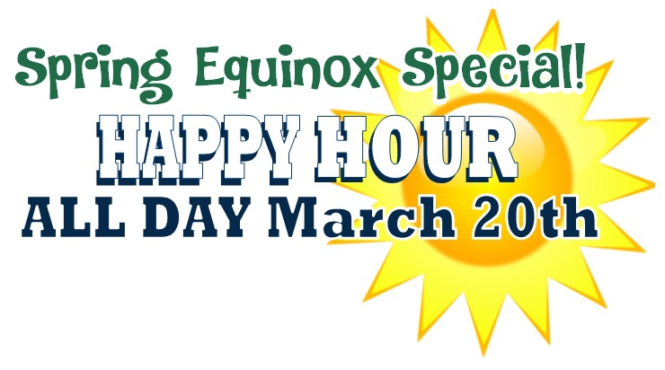 Happy Hour  SPECIAL ALL DAY! @ Beaverton Location | Beaverton | Oregon | United States
