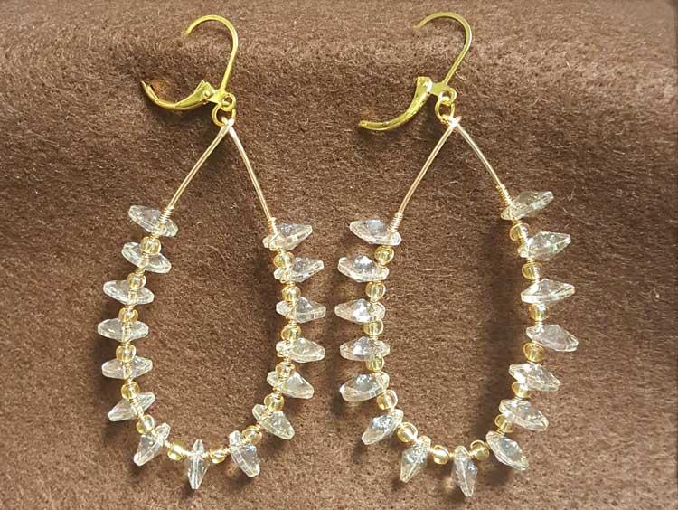 Crystal Teardrop Earrings @ Meridian Location | Meridian | Idaho | United States