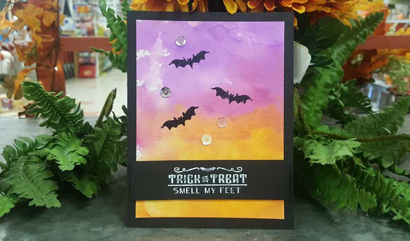 Batty Trick or Treat Card @ Meridian Location | Meridian | Idaho | United States