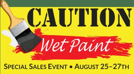 Caution: Wet Paint
