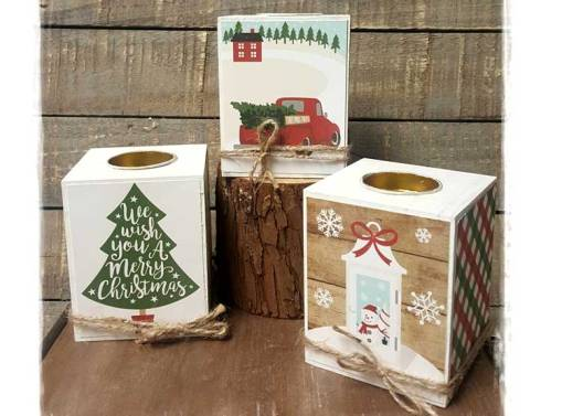 Christmas Candle Holders9