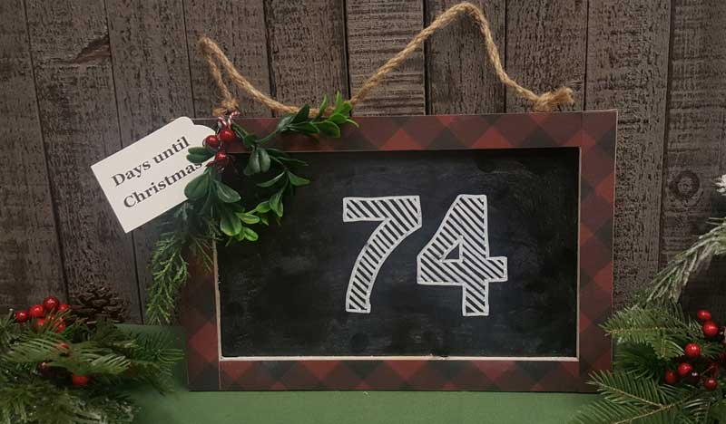 Christmas Countdown Chalkboard @ Meridian Location | Meridian | Idaho | United States