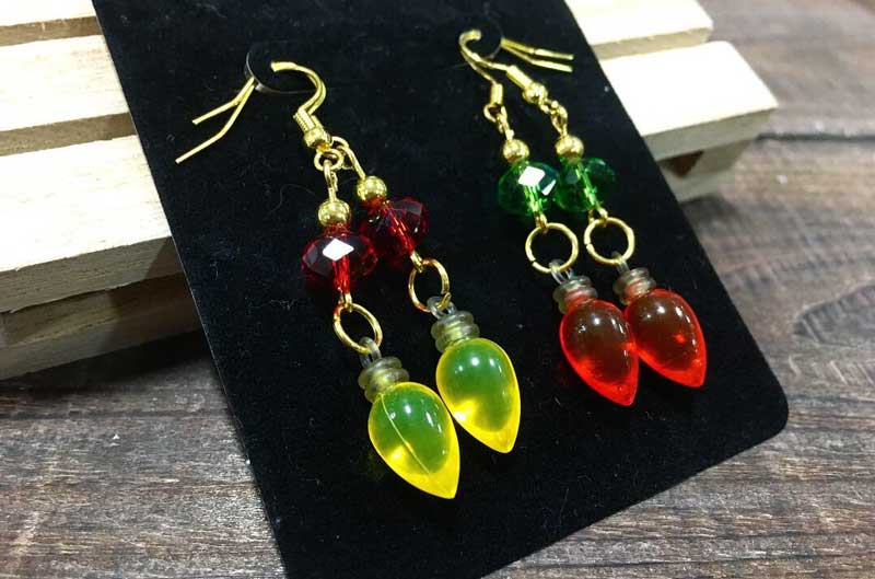 Christmas Light Earrings @ Hazel Dell Location | Vancouver | Washington | United States