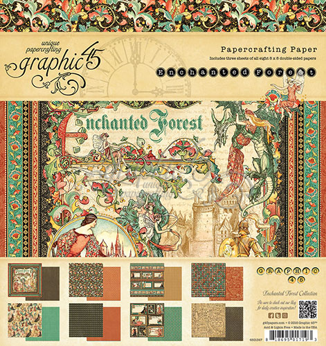 Graphic 45 Enchanted Forest Paper Pad