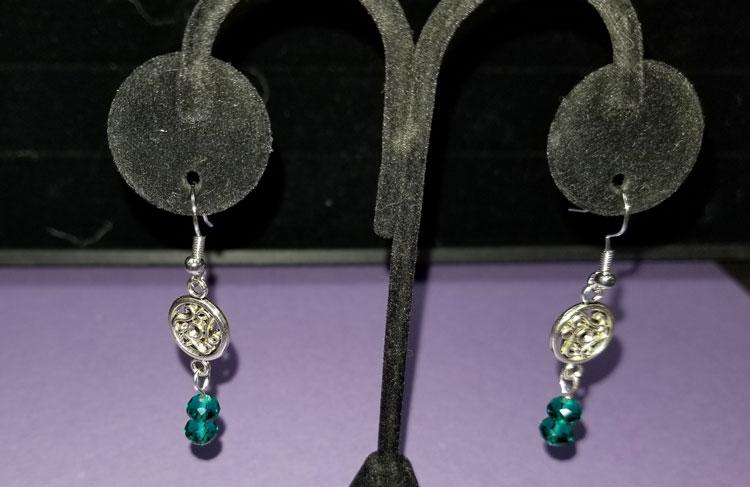 Celtic Pewter w/ Crystal Earrings @ Salem Location | Salem | Oregon | United States