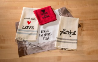Decorating your life towel iron on sayings