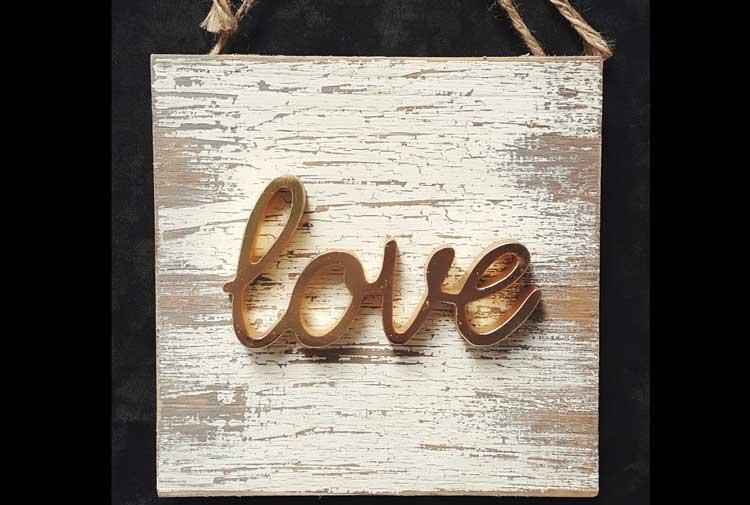 Love Plaque @ Meridian Location | Meridian | Idaho | United States