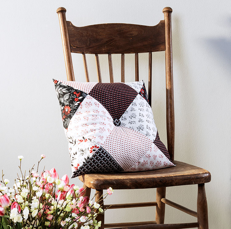 Sew this Three Seam Decorator Pillow