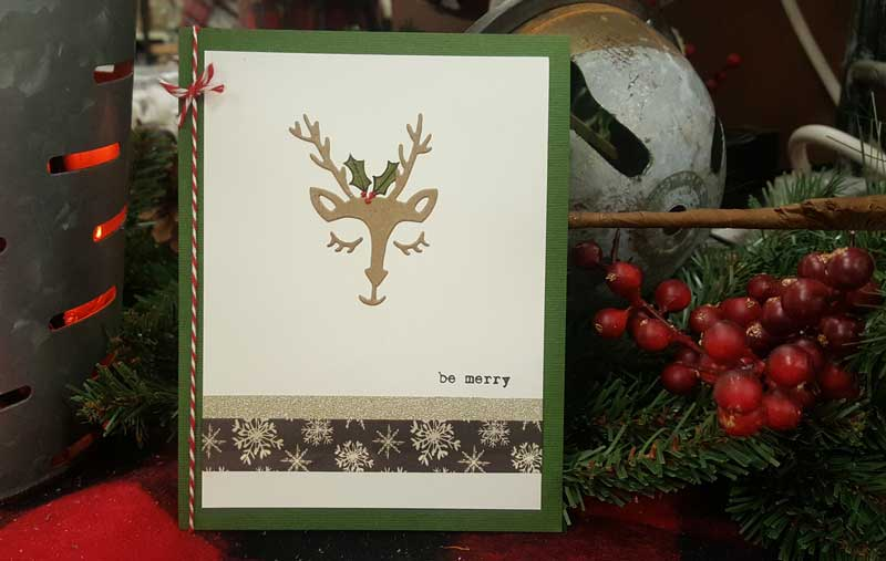 """Oh Deer"" Card @ Meridian Location 