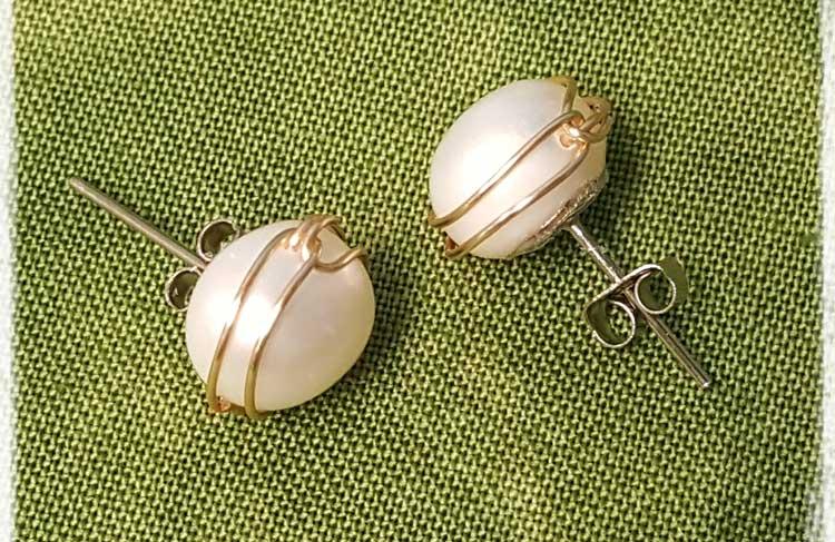 Freshwater Pearl Earrings @ Meridian Location  | Meridian | Idaho | United States