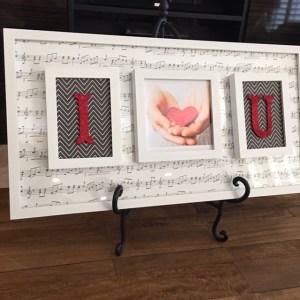 Valentines Frames Photo Decor