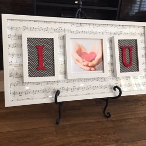 Valentines Frames Photo Decor