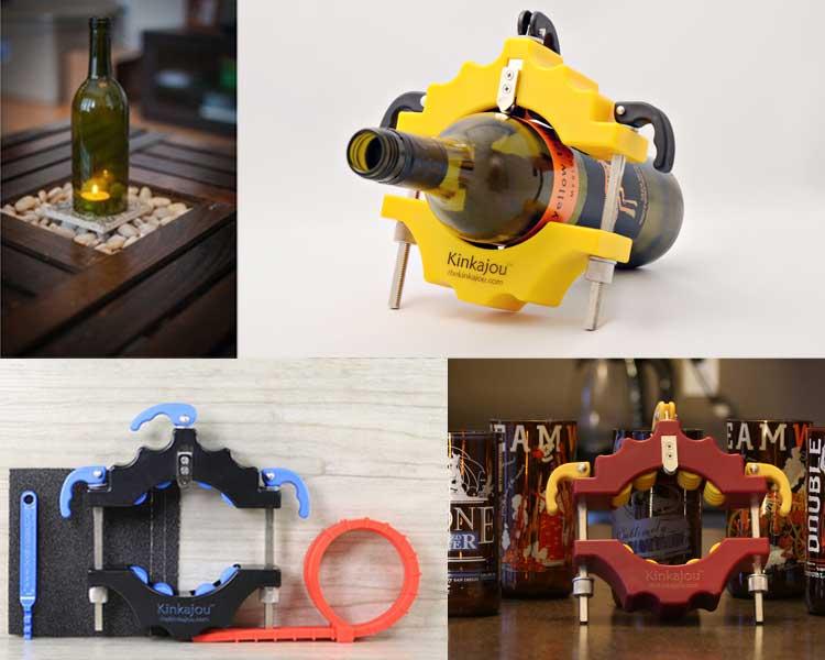 Kinkajou, Bottle Cutting Inc, Glass Cutter