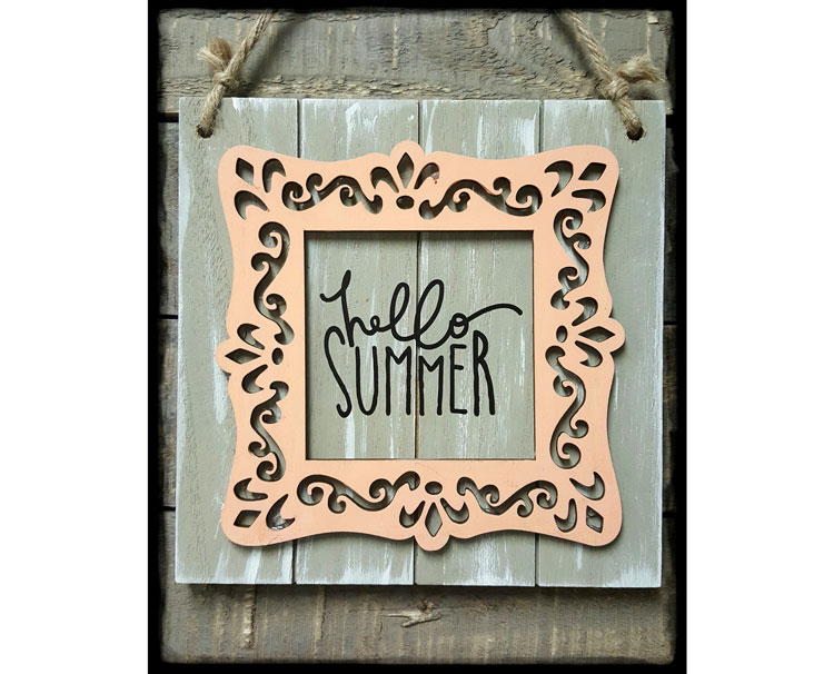 Hello Summer Plaque @ Meridian Location | Meridian | Idaho | United States