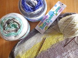 Mary Maxim Baby Sweet Cakes Knit