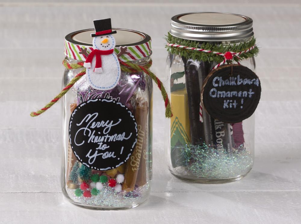 Mason Jar Gift wrap