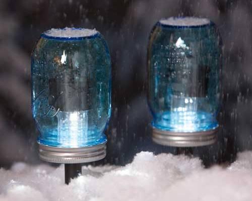 Solar Light Mason Jars
