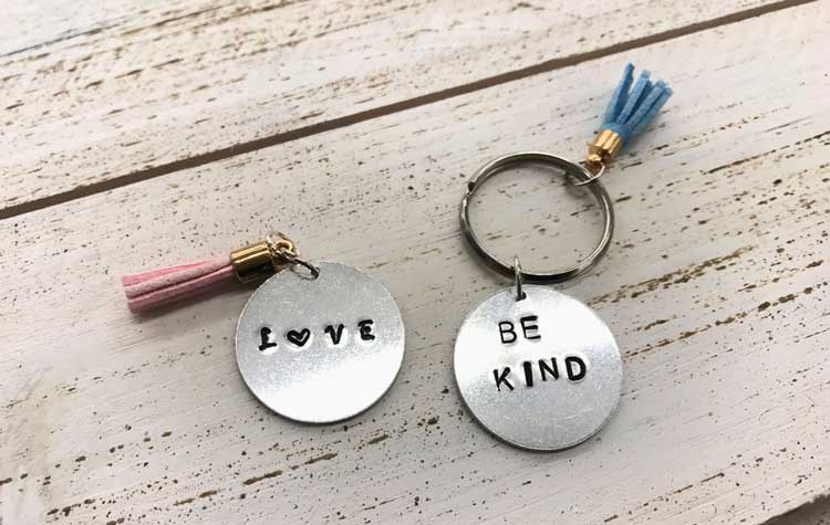 Happy Hour: Metal Stamped Keychain @ Vancouver Location   Vancouver   Washington   United States