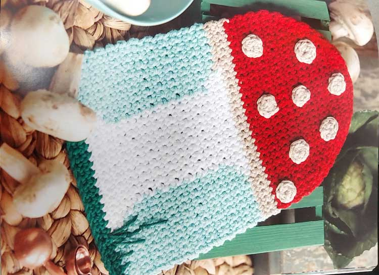 Crochet a Mushroom Dishcloth @ Gresham Location | Gresham | Oregon | United States