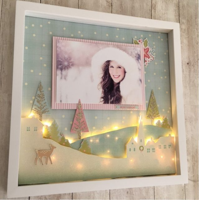 Sugar Plum Light Up Shadow Box Frame Craft Warehouse