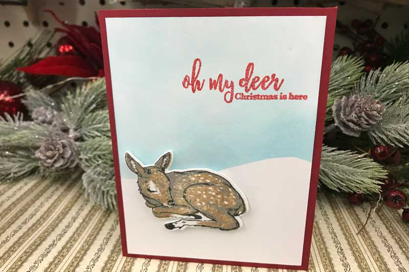 Happy Hour: Christmas Card Make and Take @ Vancouver Location | Vancouver | Washington | United States