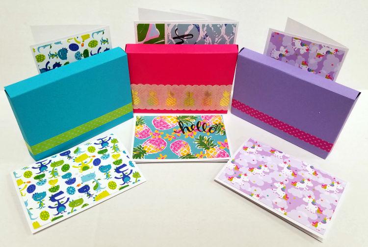 Boxed Cards Craft Warehouse Gresham Station