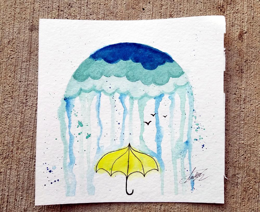 Paint Night: April Showers