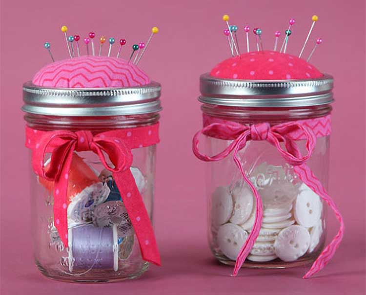 Pincushion Mason Jar @ Beaverton Location | Beaverton | Oregon | United States