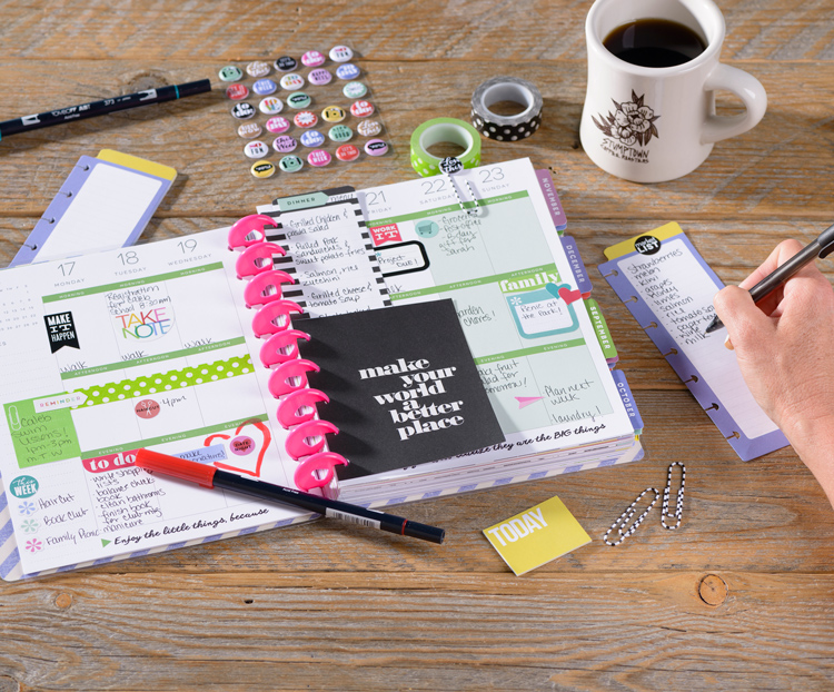 Learn the basics to starting a paper planner at Craft Warehouse