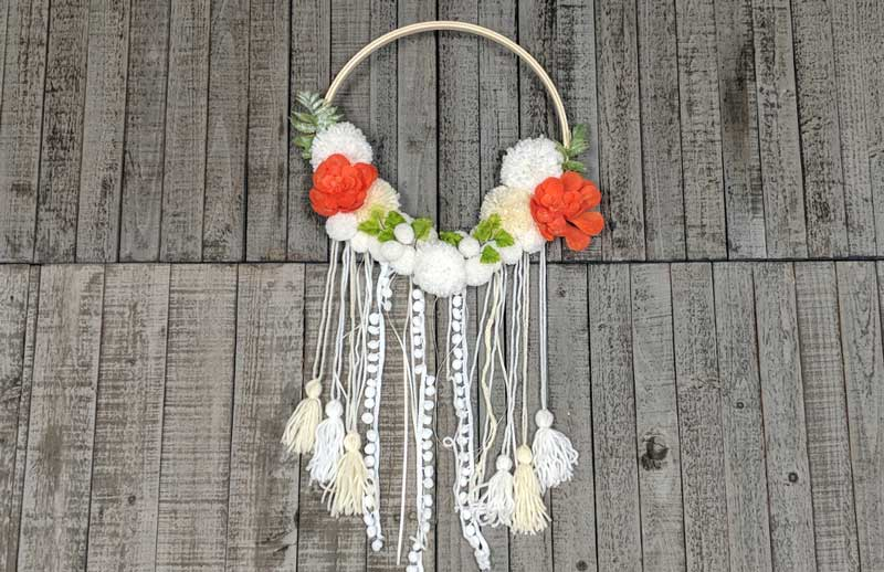 Pom-Pom Wreath @ Gresham Location | Gresham | Oregon | United States